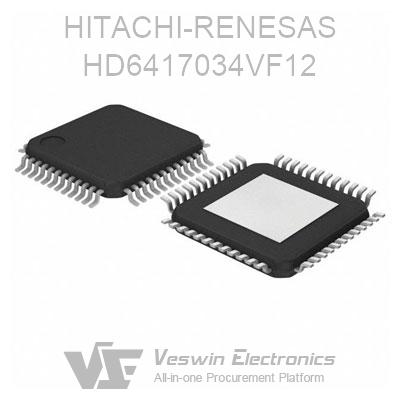 HD6417034VF12 Product Image