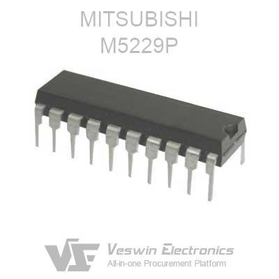 M5109P circuit intégré-CASE Mitsubishi DIP14 marque