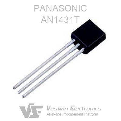 Panasonic AN1431T 1431T Adjustable Current Shunt Regulator TO-92